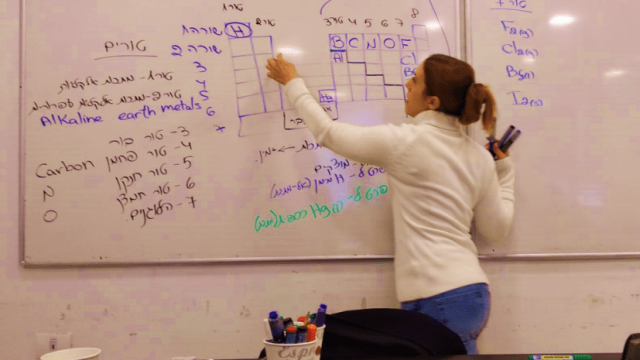 שיעור כימיה מרץ 2020 - במכינת MED-STUDY עם ד